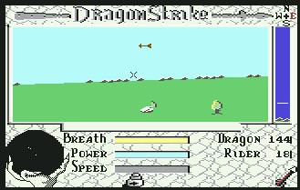 Pantallazo de Dragon Strike para Commodore 64
