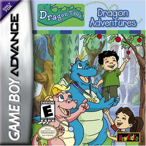 Caratula de Dragon Tales: Dragon Adventures para Game Boy Advance