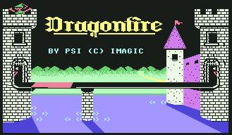Pantallazo de Dragonfire para Commodore 64