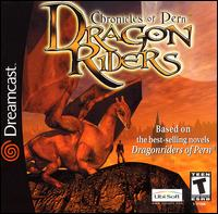 Caratula de Dragonriders: Chronicles of Pern para Dreamcast