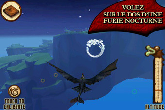 Pantallazo de Dragons: On the Wings of a Night Fury para Iphone