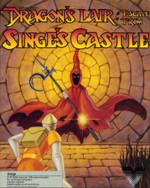 Caratula de Dragon's Lair: Escape From Singe's Castle para Amiga