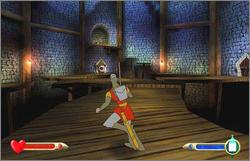 Pantallazo de Dragon's Lair 3D: Return to the Lair para GameCube