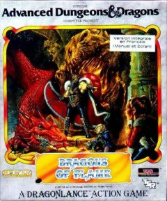 Caratula de Dragons of Flame para Atari ST
