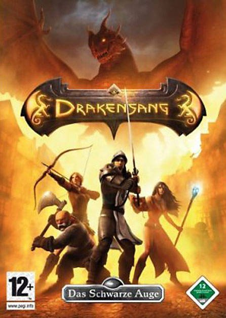 Caratula de Drakensang: The Dark Eye para PC