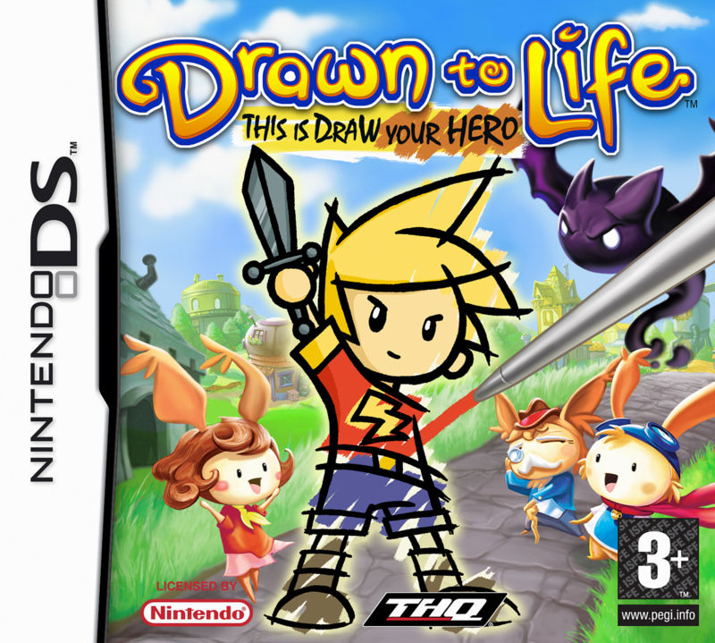 Caratula de Drawn to Life para Nintendo DS