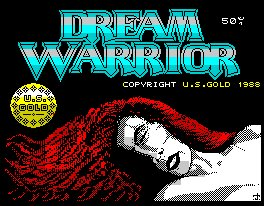 Pantallazo de Dream Warrior para Spectrum