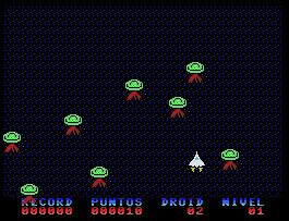Pantallazo de Droids the White Witch para MSX