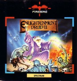 Caratula de Druid 2: Enlightenment para Spectrum