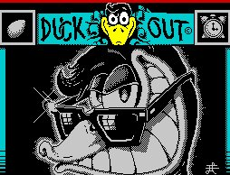Pantallazo de Duck Out! para Spectrum