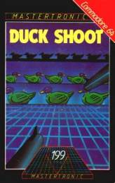 Caratula de Duck Shoot para Commodore 64