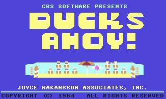Pantallazo de Ducks Ahoy! para Commodore 64