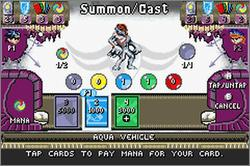 Pantallazo de Duel Masters: Sempai Legends para Game Boy Advance
