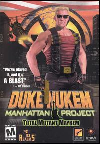 Caratula de Duke Nukem: Manhattan Project para PC