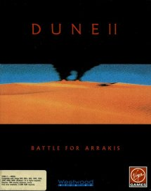 Caratula de Dune II: The Battle For Arrakis para Amiga