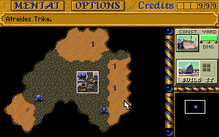 Pantallazo de Dune II: The Building of a Dynasty para PC