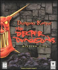 Caratula de Dungeon Keeper: The Deeper Dungeons Mission Disk para PC
