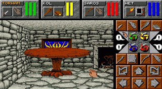 Pantallazo de Dungeon Master II: The Legend Of Skullkeep para Amiga
