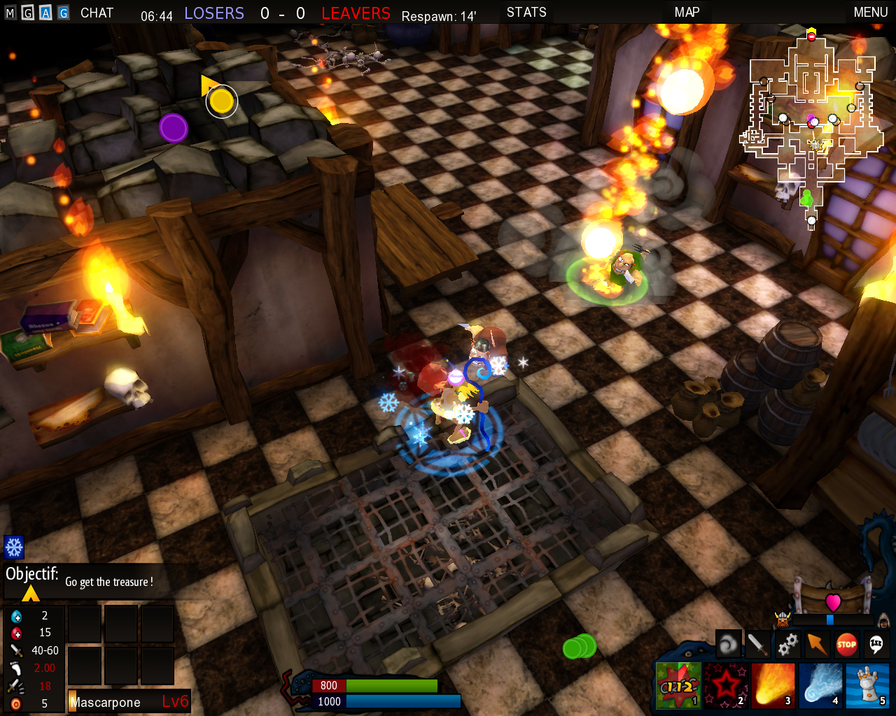 Pantallazo de Dungeon Party para PC