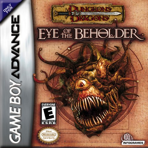Caratula de Dungeons & Dragons: Eye of the Beholder para Game Boy Advance