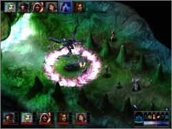 Pantallazo de Dungeons & Dragons: The Temple of Elemental Evil para PC