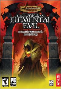 Caratula de Dungeons & Dragons: The Temple of Elemental Evil para PC
