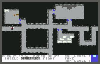 Pantallazo de Dungeons of Ba para Commodore 64