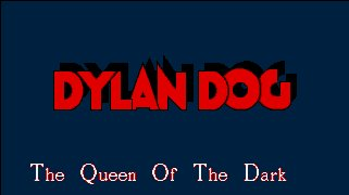Pantallazo de Dylan Dog: The Queen of the Dark para Amiga