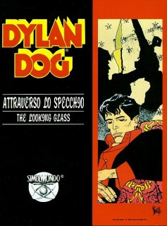 Caratula de Dylan Dog: Through The Looking Glass para Amiga
