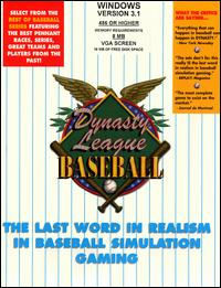 Caratula de Dynasty League Baseball para PC