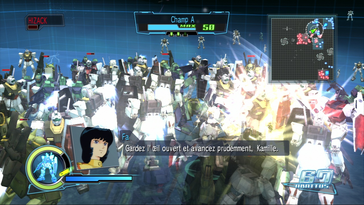 Pantallazo de Dynasty Warriors: Gundam para PlayStation 3