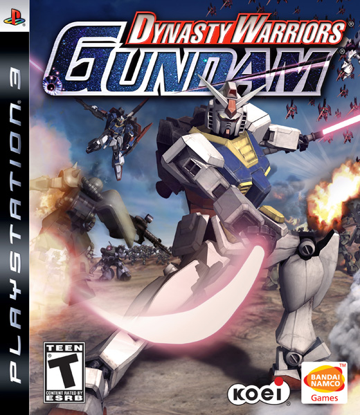 Caratula de Dynasty Warriors: Gundam para PlayStation 3