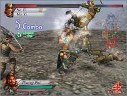 Pantallazo de Dynasty Warriors 4: Xtreme Legends para PlayStation 2