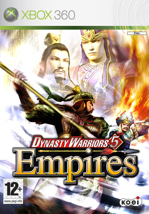 Caratula de Dynasty Warriors 5: Empires para Xbox 360