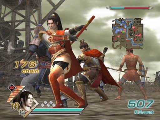 Pantallazo de Dynasty Warriors 6 Special para PlayStation 2