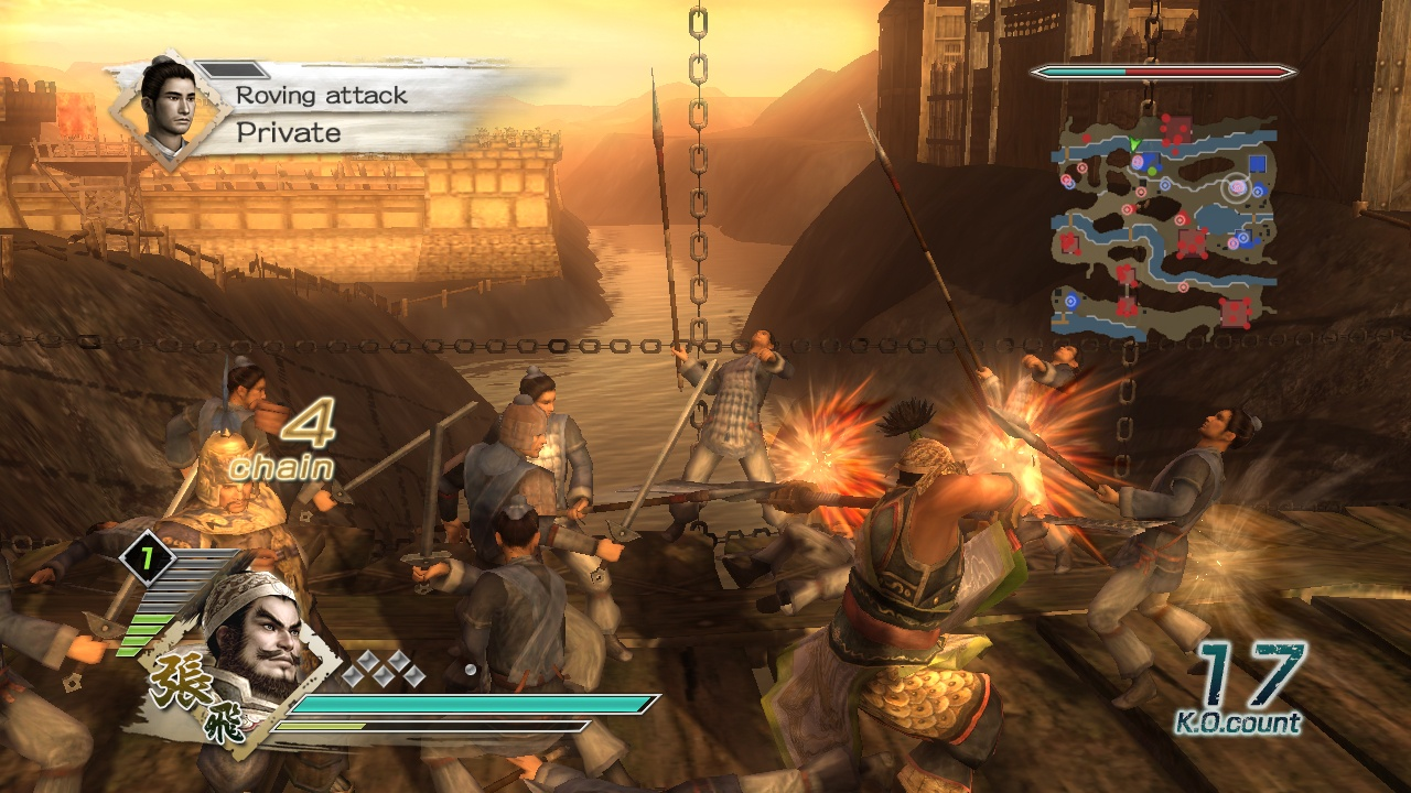 Pantallazo de Dynasty Warriors 6 para Xbox 360