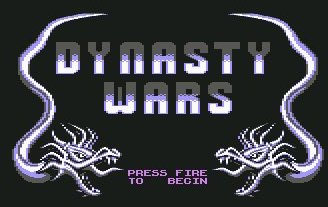 Pantallazo de Dynasty Wars para Commodore 64
