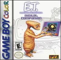 Caratula de E.T. The Extra-Terrestrial: Digital Companion para Game Boy Color