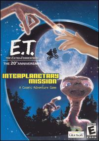 Caratula de E.T. The Extra-Terrestrial: Interplanetary Mission para PC