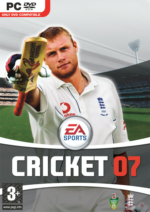 Caratula de EA Sports Cricket 07 para PC