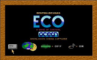 Pantallazo de ECO - A Game of Survival para Amiga