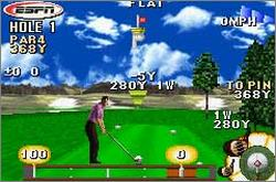 Pantallazo de ESPN Final Round Golf 2002 para Game Boy Advance
