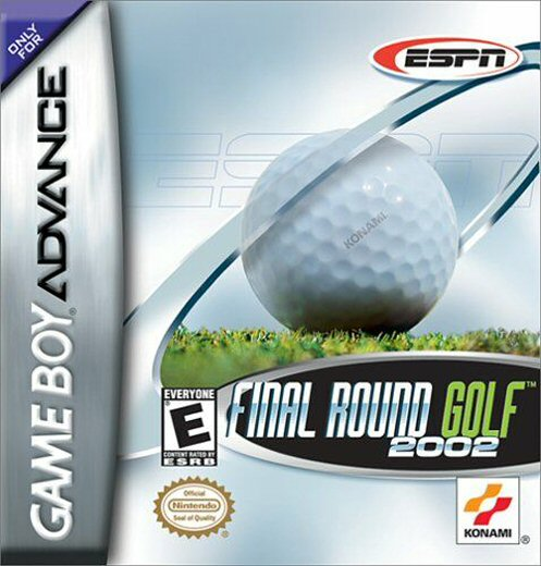 Caratula de ESPN Final Round Golf 2002 para Game Boy Advance