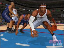 Pantallazo de ESPN NBA Basketball para PlayStation 2