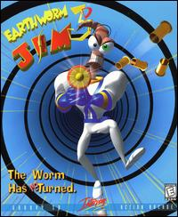 Caratula de Earthworm Jim 3D para PC