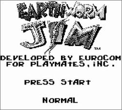 Pantallazo de Earthworm Jim para Game Boy