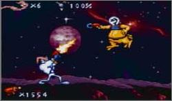 Pantallazo de Earthworm Jim para Game Boy Advance