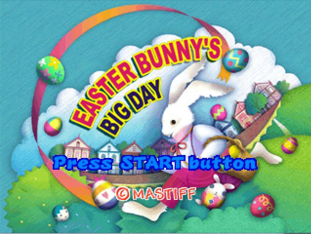 Pantallazo de Easter Bunny's Big Day para PlayStation