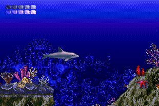 Pantallazo de Ecco the Dolphin para PC