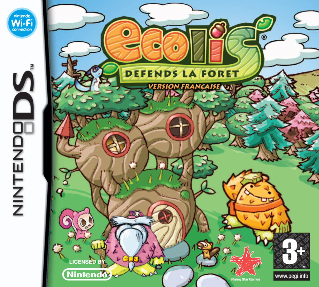 Caratula de Ecolis: Save the Forest para Nintendo DS